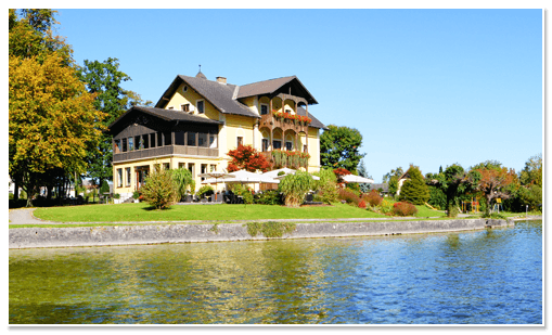 Beispiel: Außenansicht, Foto: Seecafe Restaurant Spitzvilla.