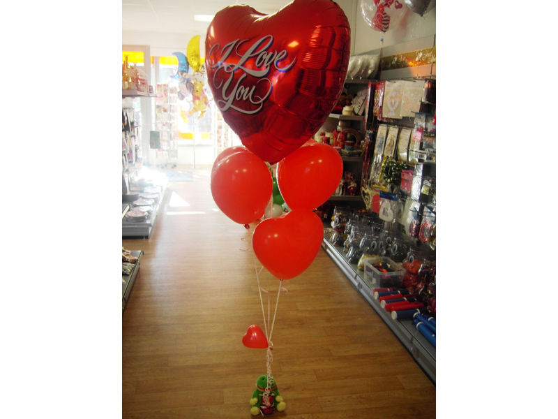 Beispiel: Herzballon, Foto: Dreamballoon.