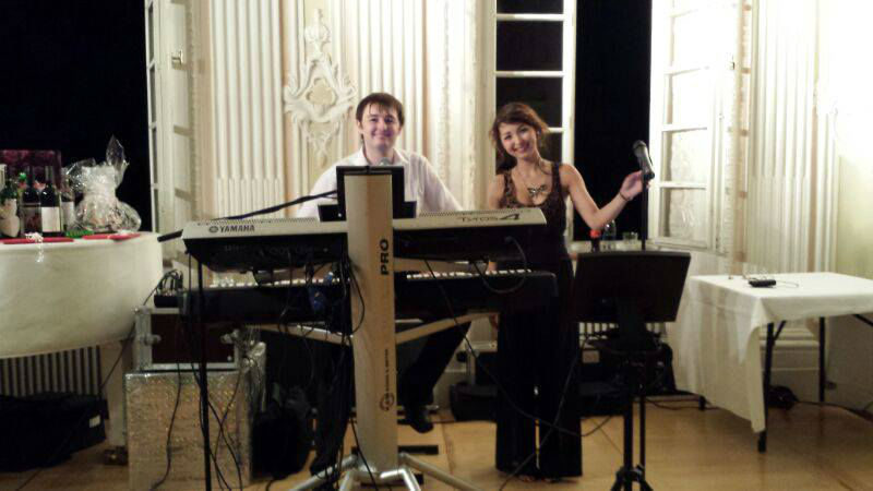 Beispiel: Duo-Besetzung, Foto: Florian Geibel - The Pianoman.