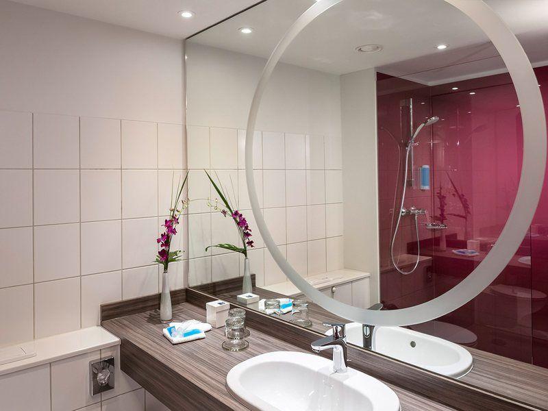 Beispiel: Hotelzimmer, Foto: Dorint Kongresshotel Mannheim.