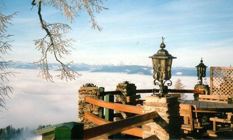 Beispiel: Ausblick, Foto: Gipfelhaus Magdalensberg.