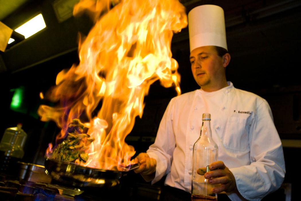 Beispiel: Einzigartige Gerichte, Foto: Hotel Basel.