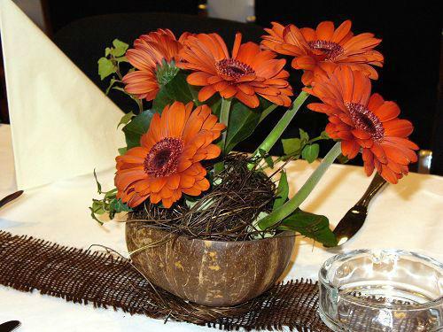 Beispiel: Tischgesteck, Foto: die kornblume.