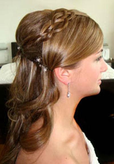 Foto: Ihre perfekte Hochzeitsfrisur, Foto: Le salon mobile.