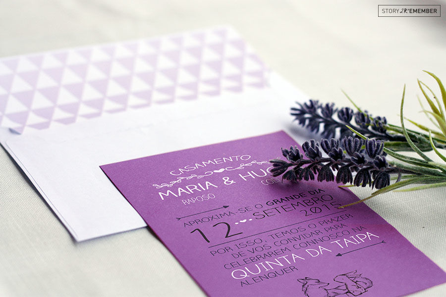Casamento Maria&Hugo - Convite