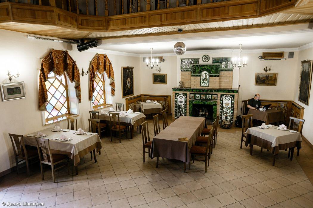 Каминный зал ресторана
