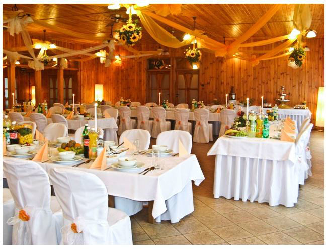 Pod Lipami, miejsce na wesele