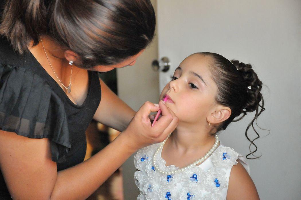 Maquillaje y Peinado por nosotras, Marion y Mane de So Beautiful Makeup