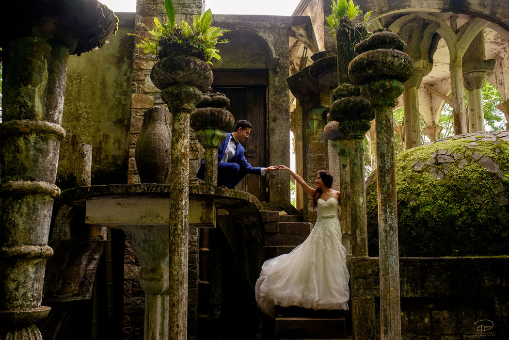 Sesión Trash the Dress en Xilitla