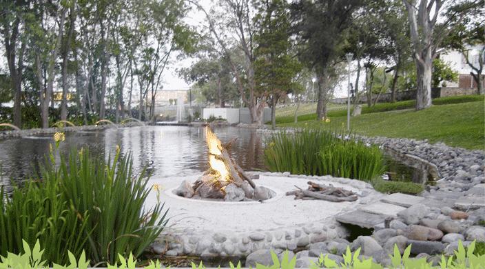 Jardín para bodas en Zapopan - Foto de El Romeral