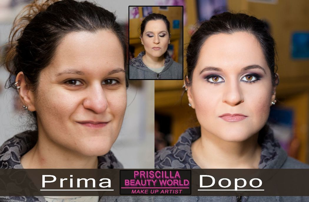 Priscilla Beauty World: Prima&Dopo Serena