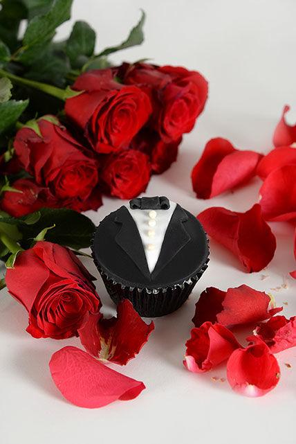 Beispiel: Hochzeitstörtchen, Foto: Wunderland.