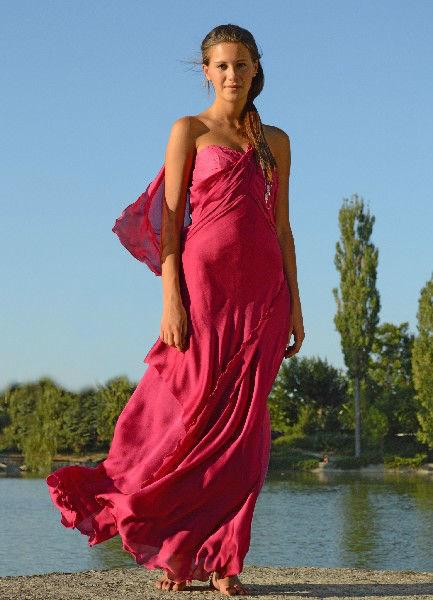 Beispiel: Kleider für Brautführerinnen, Foto: Festmode Diel.