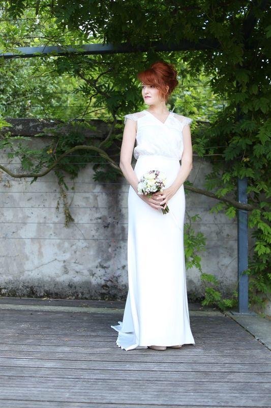 Kaa Couture modèle robe de mariée JEANNE