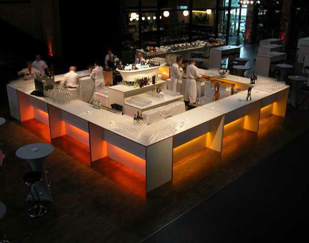 Beispiel: Service über den ganzen Abend, Foto: First Catering.