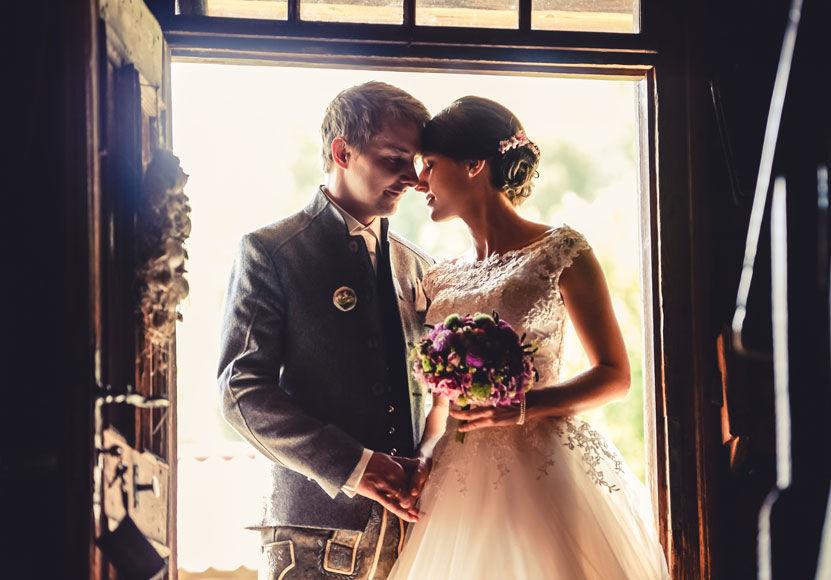 Romantische Hochzeitsfotos by Tommy Seiter