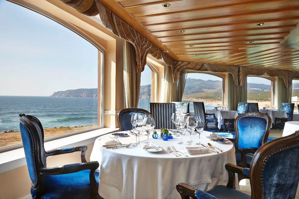 Restaurante panorâmico premiado com uma Estrela Michelin