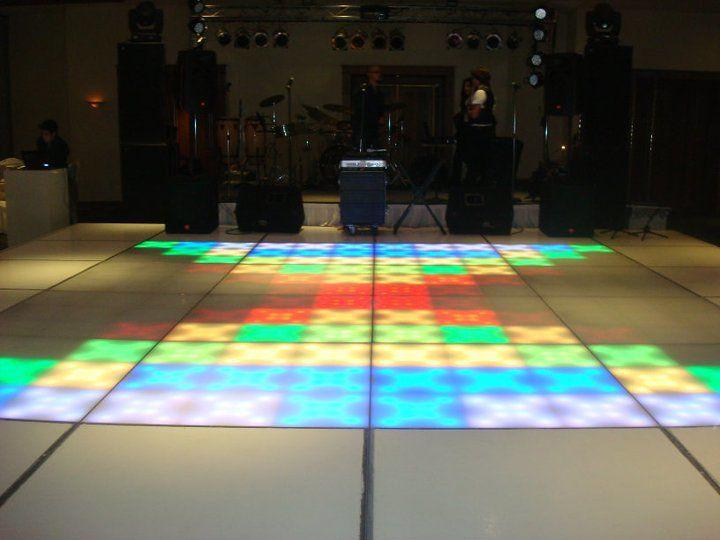 Pistas de baile llenas de color