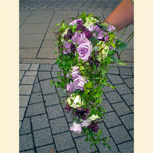 Beispiel: Brautstrauss, Foto: Blumen Mardt.