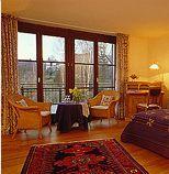 Beispiel: Hotelzimmer, Foto: Hofgut Battenberg.