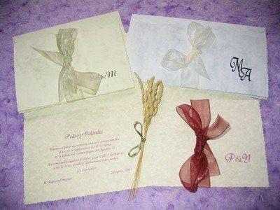 La cigüeña de papel, invitaciones clásicas