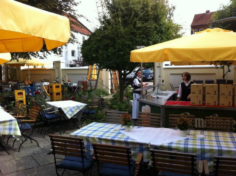 Beispiel: Terrasse, Foto: AKZENT Hotel Höltje.