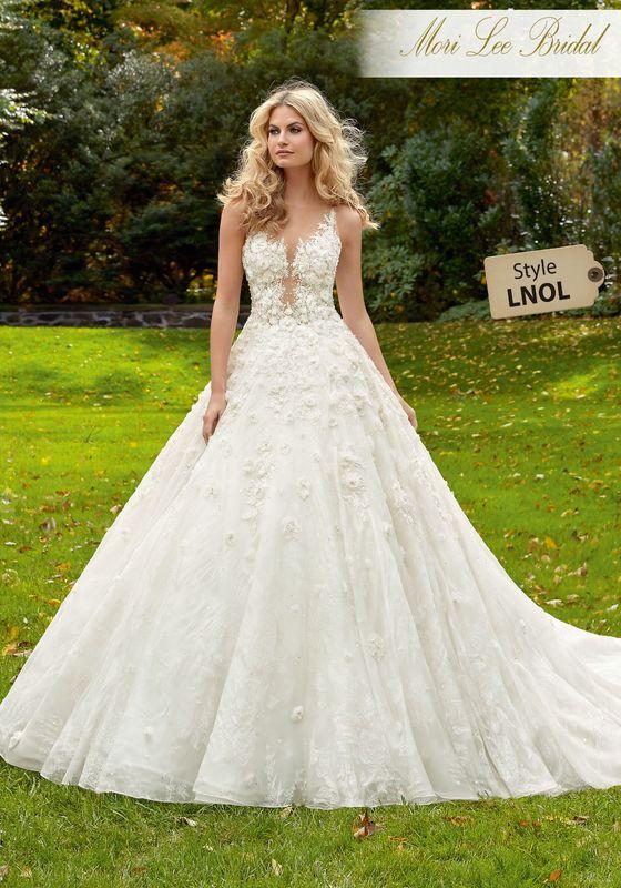 Dress style LNOL Maritza Wedding Dress Colors Available: White, Ivory, Ivory/Champagne.