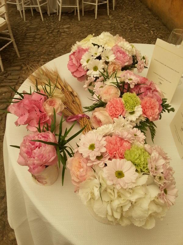 Shabby chic wedding - Tavolo sposi