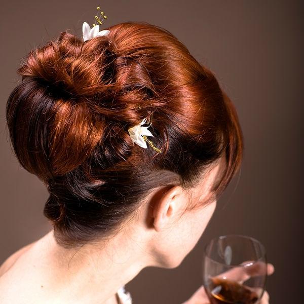 Beispiel: Hochsteckfrisur, Foto: Le Salon Deluxe.