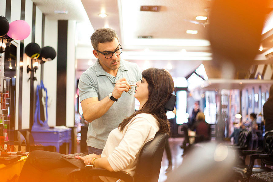 Lia Camargo, do Just Lia, que fez o cabelo do seu casamento com Rodrigo Lima. (Crédito: Larissa Coutinho)