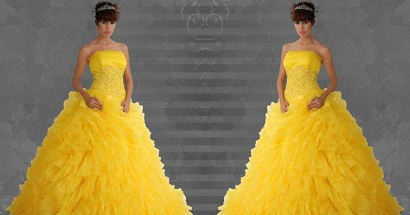 Beispiel: Fühlen Sie sich wie eine Prinzessin, Foto: Estrella Festmode Atelier.