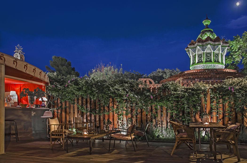 Preciosas vistas a las que invita el Jardín.