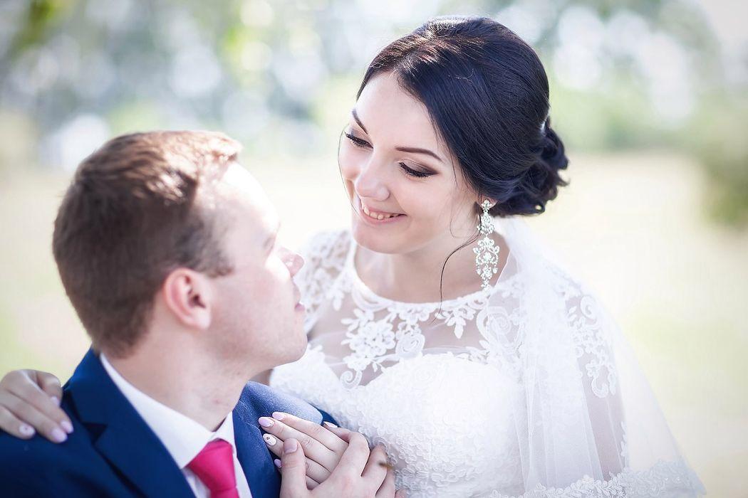 Егор и Анна макияж и причёска для невесты - Нелли Шварц Фотограф - Ирина Лапшина