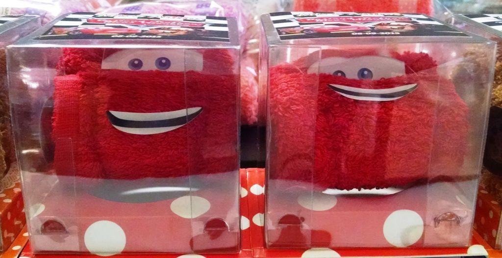 cars de toalla facial