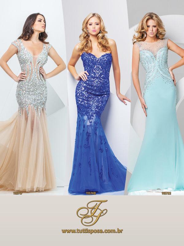 Tutti Sposa - Vestido de Festa - Modelo 115717 - 115748 - 115722
