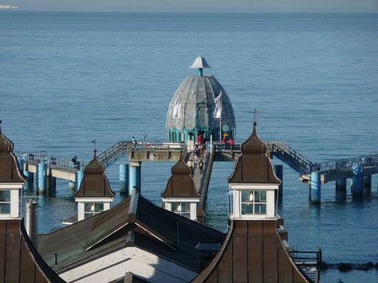 Beispiel: Außenansicht, Foto: Seebrücke in Sellin.
