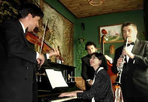 Cuarteto UCCORUS  en Bogotá - música para bodas y recepciones