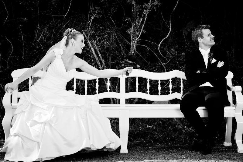 Beispiel: Portrait vom Brautpaar, Foto: Patrick Ludolph.