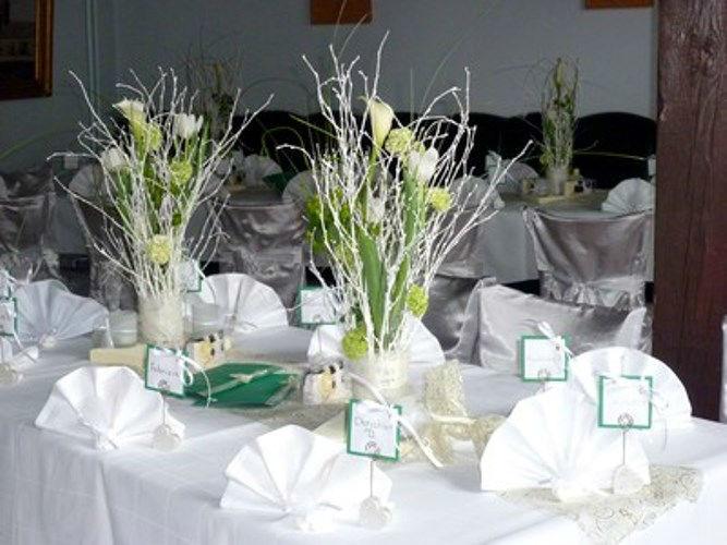 Beispiel: Tischdekoration, Foto: Restaurant Hofstall.