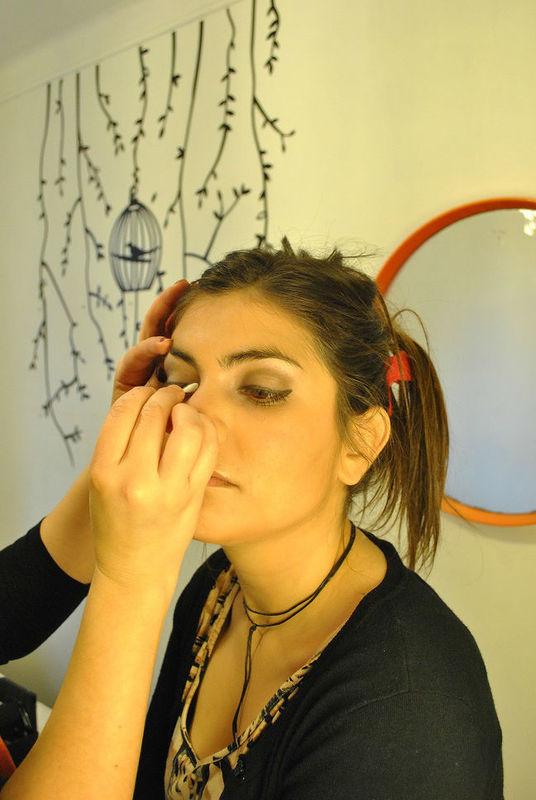 Maquillaje Clo Dehnhardt.