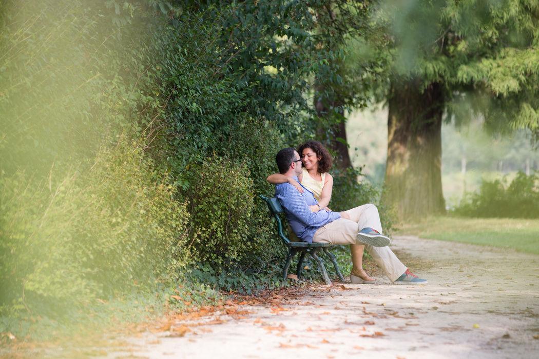 Séance de couple au bois de Vincennes