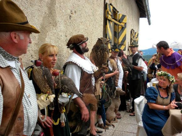Beispiel: Ritterfest, Foto: Burg Hochosterwitz.