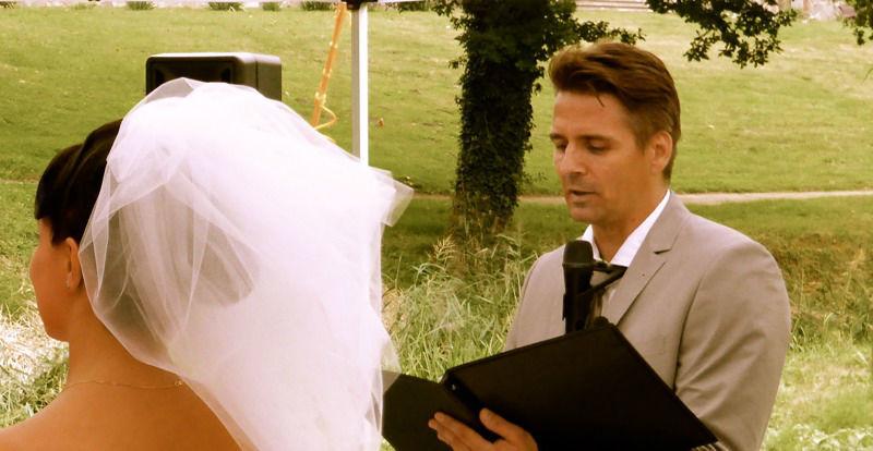 Beispiel: Ihre persönliche Hochzeitszeremonie, Foto: Dominik Schulz.