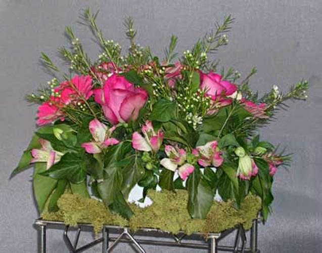 Beispiel: Geschmackvolle Blumendekoration, Foto: Blumen Leitgeb-Hitzler.