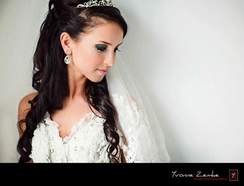 Beispiel: Portrait der Braut, Foto: Yvonne Zemke wedding photography.
