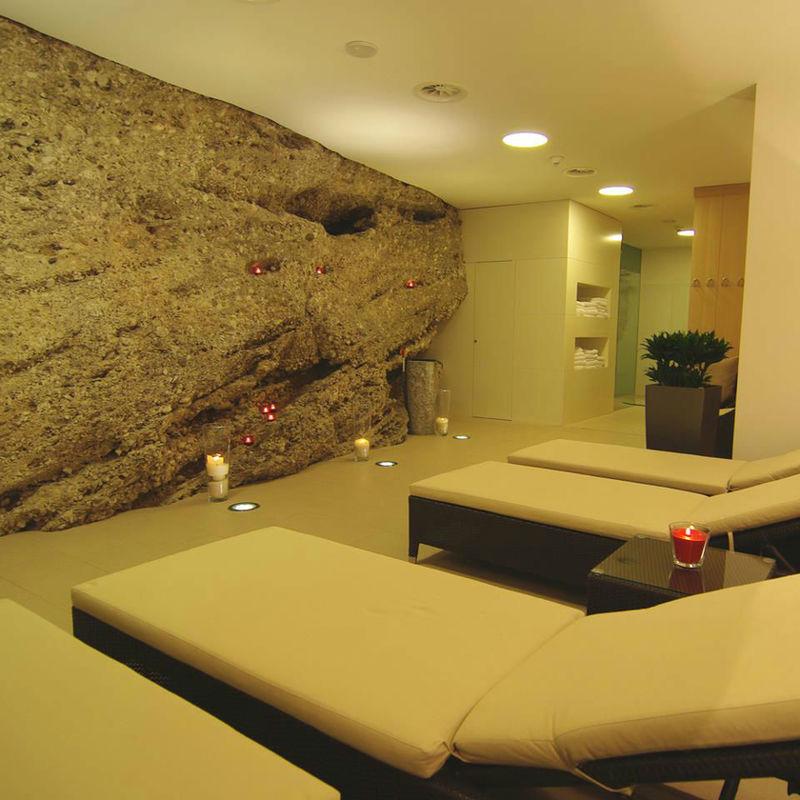 Beispiel: Wellnessbereich, Foto: Hotel Chirstkindlwirt.