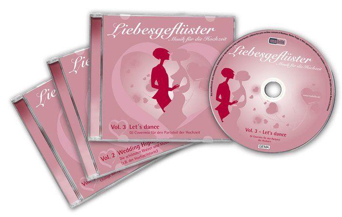 Beispiel: Musik-Kollektion Liebesgeflüster, Foto: Rosabrille.