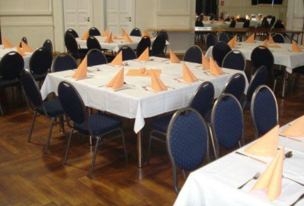 Beispiel: Tanzsaal - Tischverteilung, Foto: Tanzsaal an der Panke.