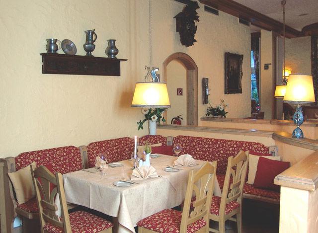 Beispiel: Restaurant, Foto: Landhaus Alpinia.