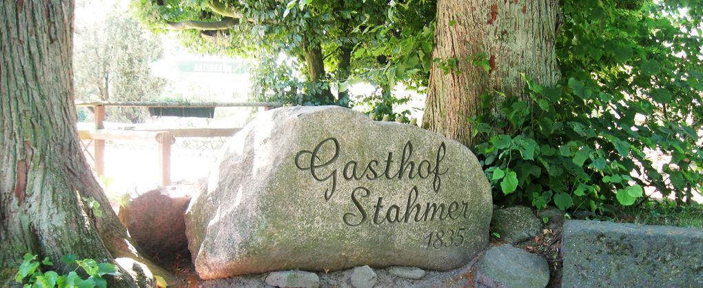 Beispiel: Garten - Dekorationselement, Foto: Landgasthof Stahmer.